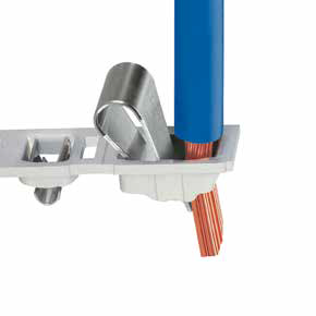 Push-in CAGE CLAMP connection